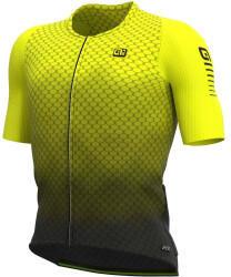 Alé Cycling R-EV1 Velocity G+ Short Sleeve Shirt Men (2021) black/fluo yellow