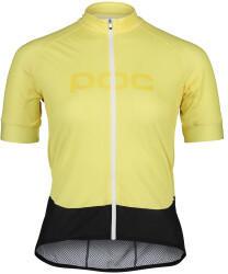 POC Essential Road Logo Short Sleeve Shirt Women (2021) light sulfur yellow/sulfur yellow