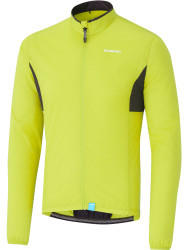 shimano-compact-windbreaker-mens-neon-yellow