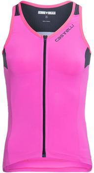 castelli-solare-top-womans-2021-pink-fluo-dark-steel-blue