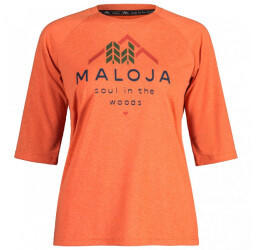 Maloja HimbeereM. 3/4 Arm Shirt Womans (2021) glowing alps