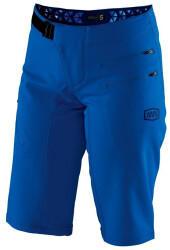 100% AIRMATIC SHORT Woman Bikeshorts blue