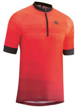 Gonso Pilone Half-Zip Shirt Mens (2021) high risk red