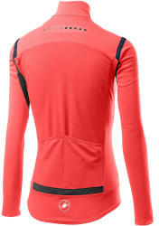 Castelli Womens Perfetto Ros with Long Sleeve brilliant pink
