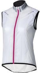 Apura Damen Windweste Barrier - weiß/pink