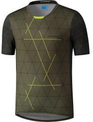 Shimano Myoko Short Sleeve Shirt Men (2021) olive
