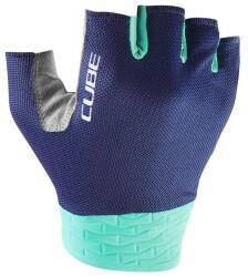 Cube Handschuhe Performance Kurzfinger blau/mint