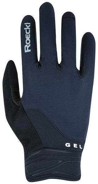 Roeckl Mori Handschuhe schwarz/blau