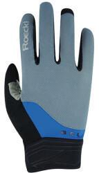 Roeckl Mori Handschuhe grau/schwarz/blau