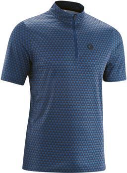 Gonso Pesio Half-Zip Shirt Mens (2021) blue allover