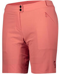 Scott Sports Scott Womens Shorts Endurance Loose Fit with Pad brick red