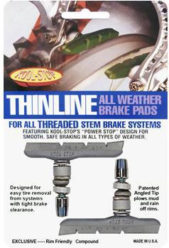 Koolstop Thinline (V-Brake) Silver