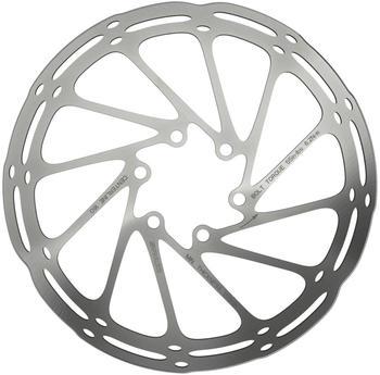 SRAM Centerline Rounded Bremsscheibe einteilig silber 180mm