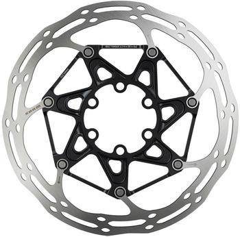 SRAM Centerline Rounded Bremsscheibe zweiteilig silber/schwarz 180mm