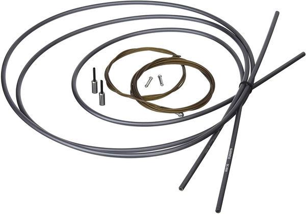 Shimano Spares Road Brake Set Cable Poly - Grey