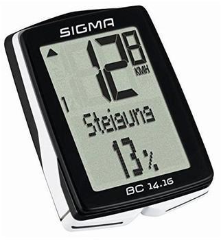 Sigma BC 14.16 STS CAD schwarz
