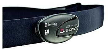 Sigma Brustgurt R1 Duo Comfortex+ schwarz