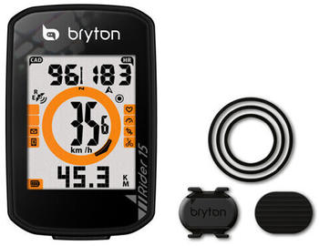 Bryton Rider 15 black with cadence sensor