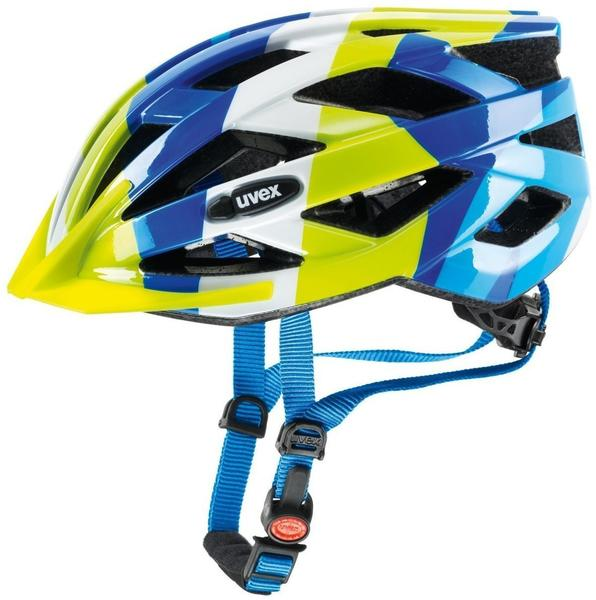 UVEX Air wing 52-57 cm blue/green