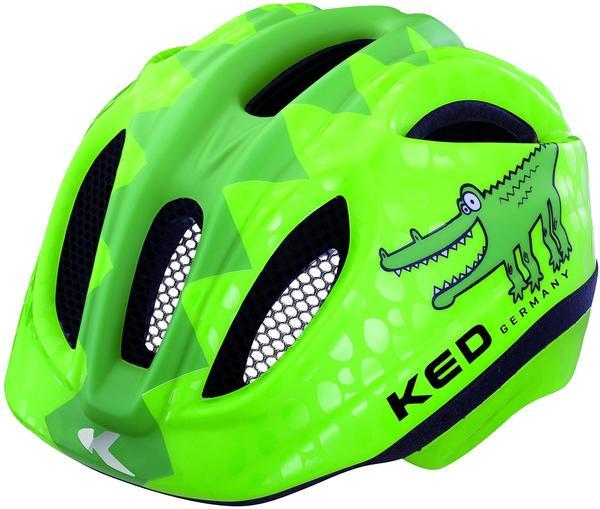 KED Meggy 49-53 cm Kinder Reptile green croco