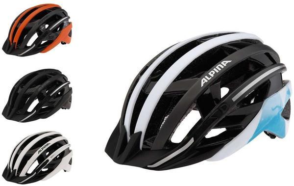 Alpina E-Helm Deluxe 57-61 cm black/darksilver reflective 2015