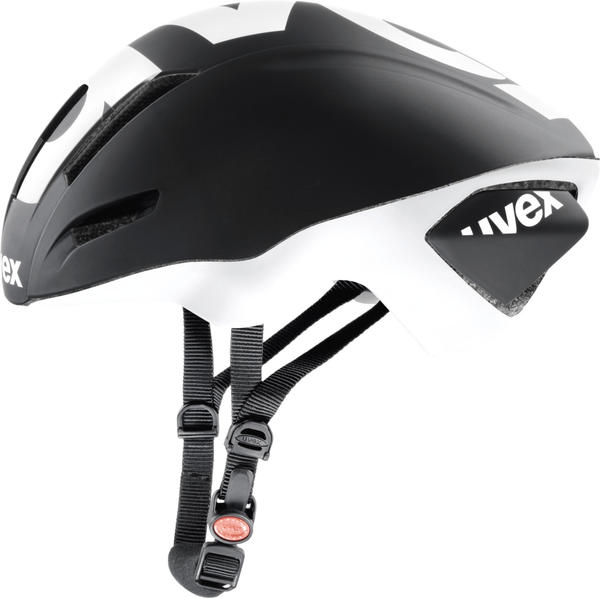Uvex EDAero 57-59 cm black/white matt 2015