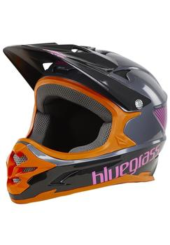 Bluegrass Intox Helm grey/orange/purple 54-56 cm