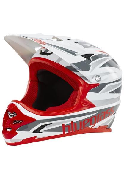 bluegrass Intox Helm black/red/white 58-60 cm 2017 Downhill Helme