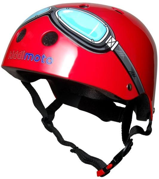 Kiddi moto Helm Red Goggle