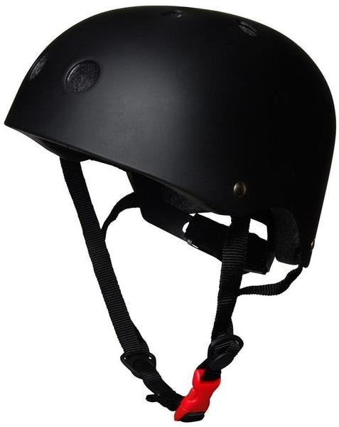 Kiddi moto Helm Matt Black