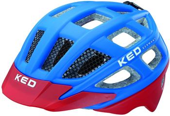 KED Kailu 49-53 cm blue/red matt 2015