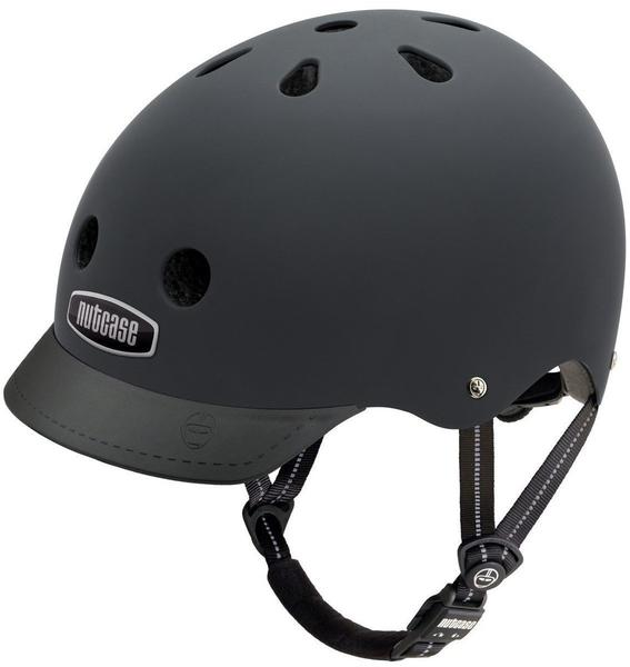 Nutcase Solid City Urban Helm Blackish L