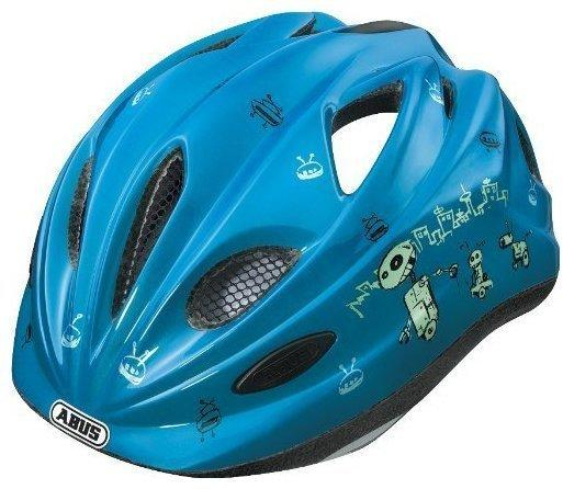 ABUS Chilly 52-57 cm Kinder robot blue 2014