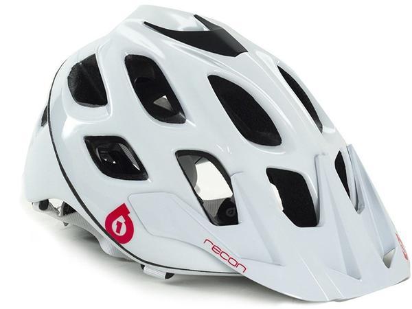 SixSixOne Fahrradhelm Recon Scout Helm weiß 55-58cm