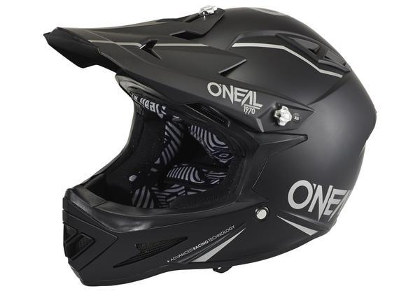 ONeal Warp Fidlock Helmet matt black 53-54 cm 2017 Downhill Helm-Schwarz-XS