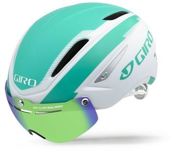 Giro Air Attack 16 59-63 cm matte white/turquoise
