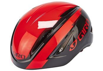 Giro Air Attack Shield fluorescent rot-schwarz