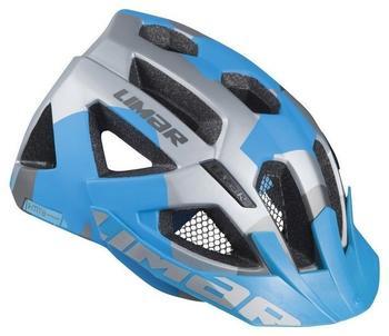 Limar Fahrradhelm X-MTB Gr. L (57-61cm) matt silber/blau (1 Stück)