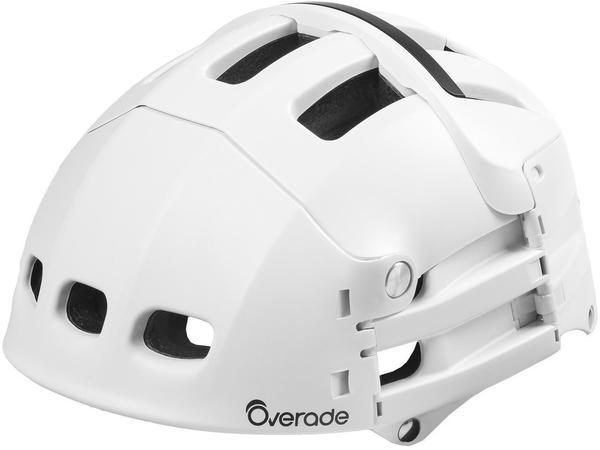 OVERADE Helme Plixi faltbar S/M 54-58 cm weiss matt
