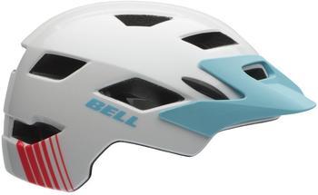 Bell Sidetrack Helm weiß-blau