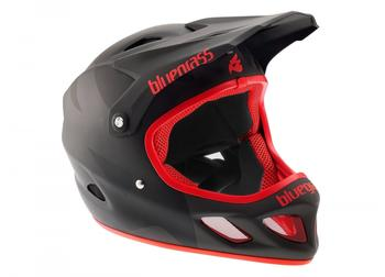 Bluegrass Explicit Fullface-Helmet matt black/red 58-60 cm 2017 Downhill Helme