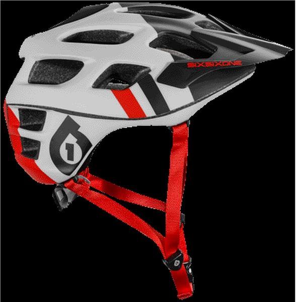 SixSixOne Recon Scout Helmet grey/black S/M