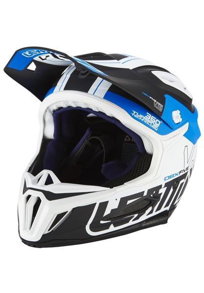 Leatt Brace DBX 5.0 Composite Helmet black/blue 55-56 cm
