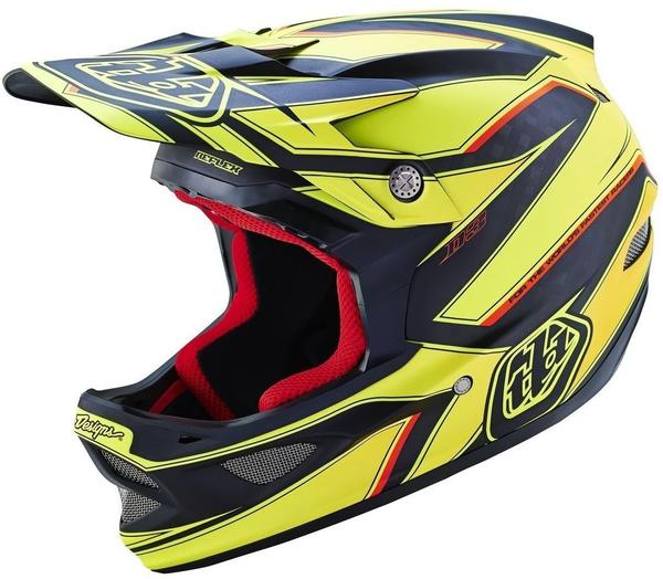 Troy Lee Designs D3 Reflex Yellow S
