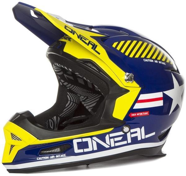 ONeal ONeal Fury RL Afterburner Helmet blue 61-62 cm