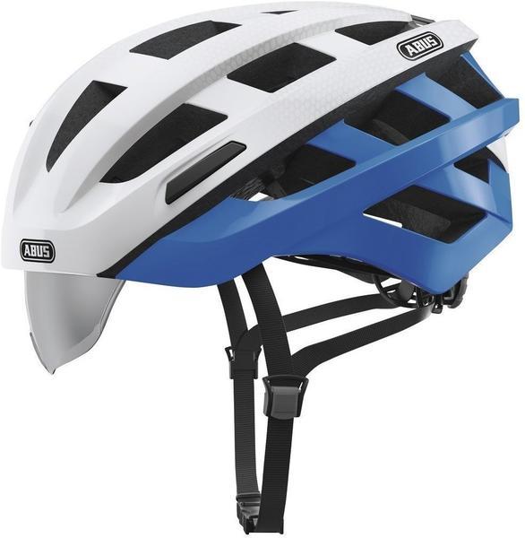 ABUS In-Vizz Ascent 58-62 cm blue comb