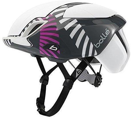 Bollé The One Road Premium Helmet white circles 58-62 cm Rennrad Helm
