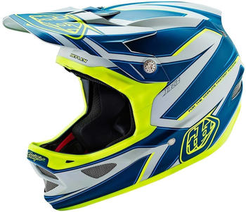 Troy Lee Designs D3 Reflex grau-gelb