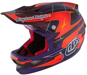 Troy Lee Designs D3 MIPS 58-59 cm render purple 2016