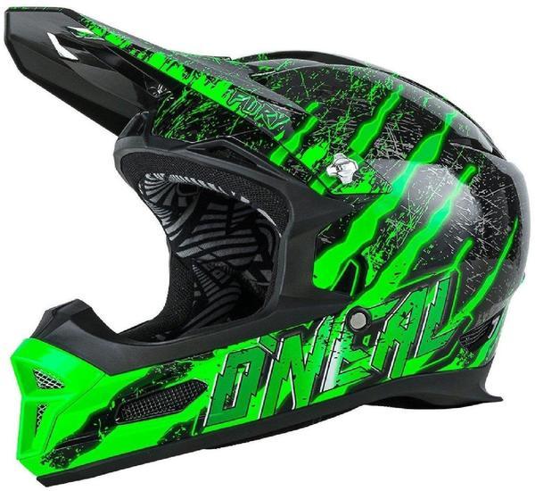 ONeal Fury RL Mercury schwarz/grün XL